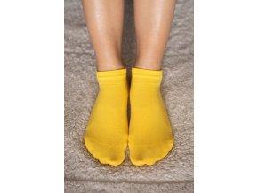 Be lenka barefootové ponožky - žluté nízké