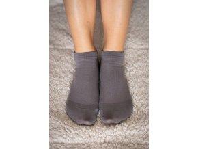 Be lenka barefootové ponožky - šedé nízké