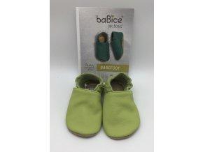 baBice barefoot capáčky BA051 - hráškové