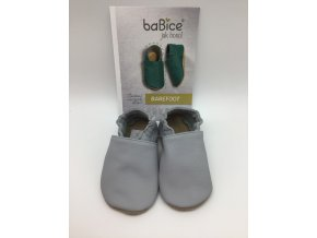 baBice barefoot capáčky BA087 - světle šedé
