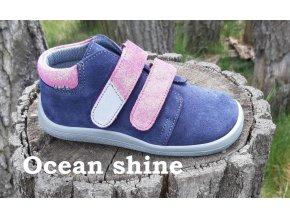 Beda Barefoot membránové Ocean Shine BF-0001/W/M broušená kůže
