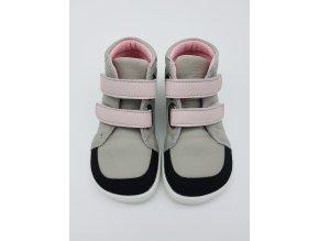 Baby bare Febo FALL - Grey/Pink s okopem s membránou