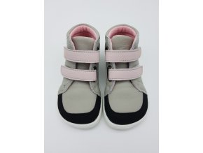 Baby bare Febo FALL - Grey/Pink s okopem