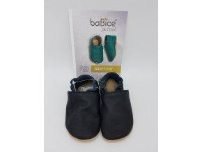 baBice barefoot capáčky BA053 - černé