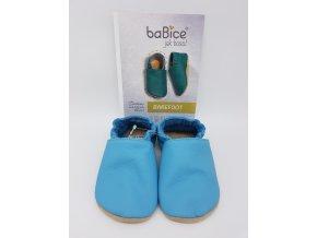 baBice barefoot capáčky BA121 - azurová