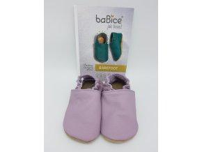 baBice barefoot capáčky BA143 - lila