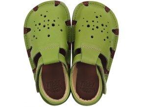 barefoot sandals aranya lime 19 23 eub 21235 4