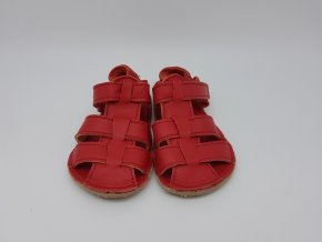Baby Bare Shoes Sandals Red