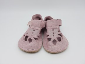 Baby Bare Shoes IO Sparkle Pink - Summer perforation