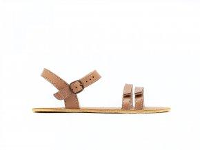 barefoot sandale be lenka summer brown 21 16078 size large v 1