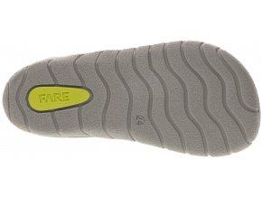 Fare Bare Economic sandálky RŮŽOVÉ, ŠEDÁ podrážka B5464251, B5562251