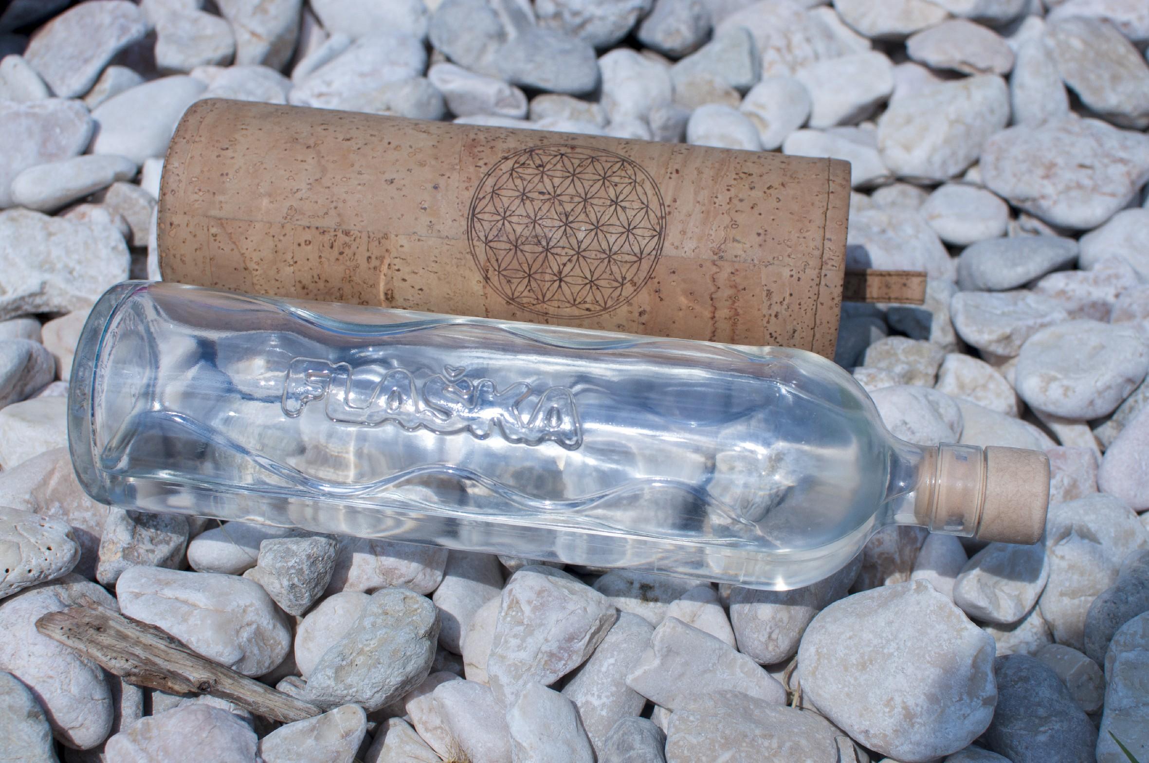 ZERO WASTE sklenené fľaše