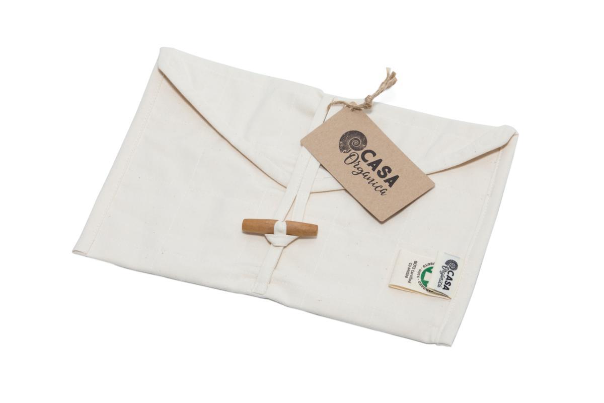 Biobavlnené vrecká na zabalenie desiaty