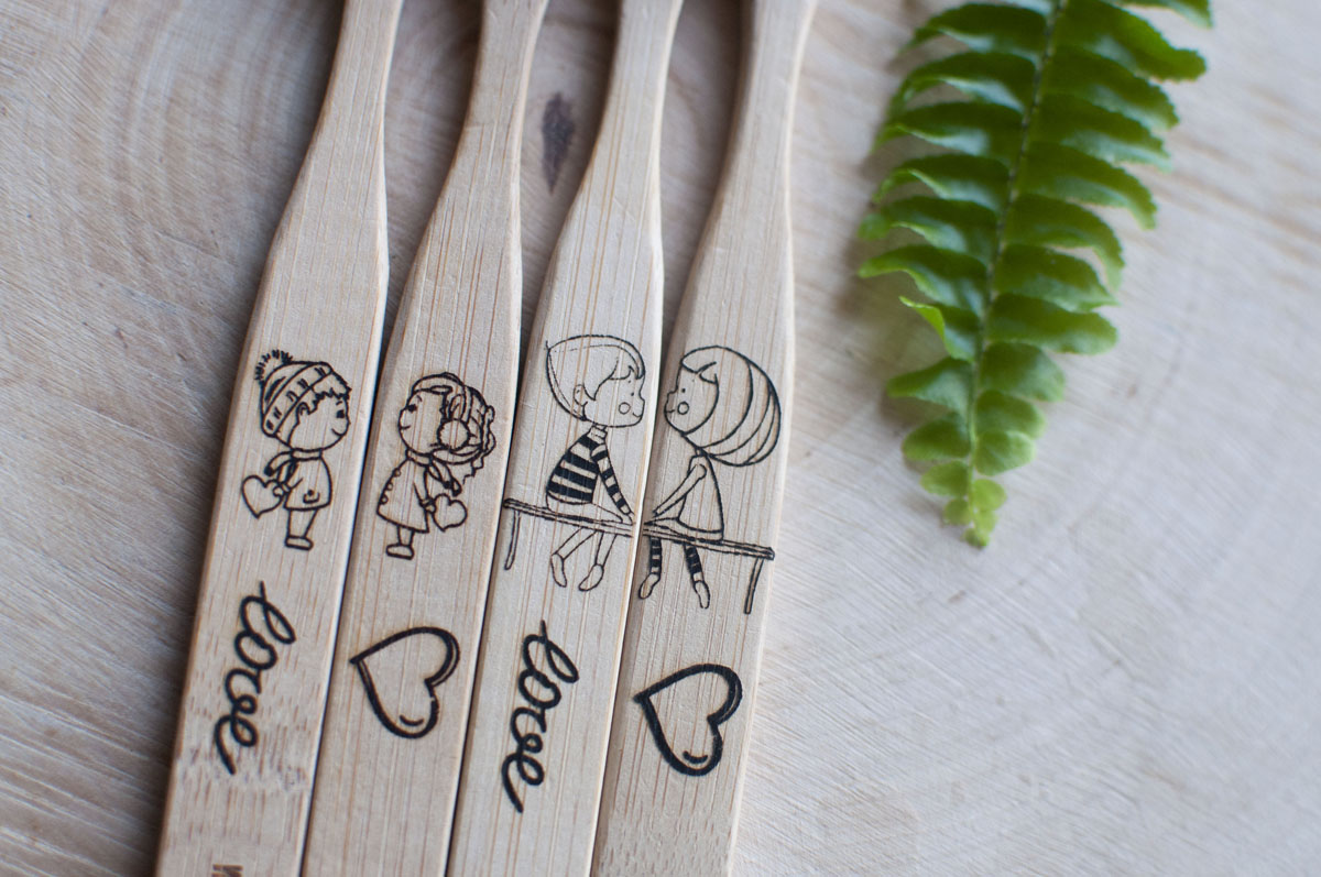 Bambusové zubné kefky Zubnakefka