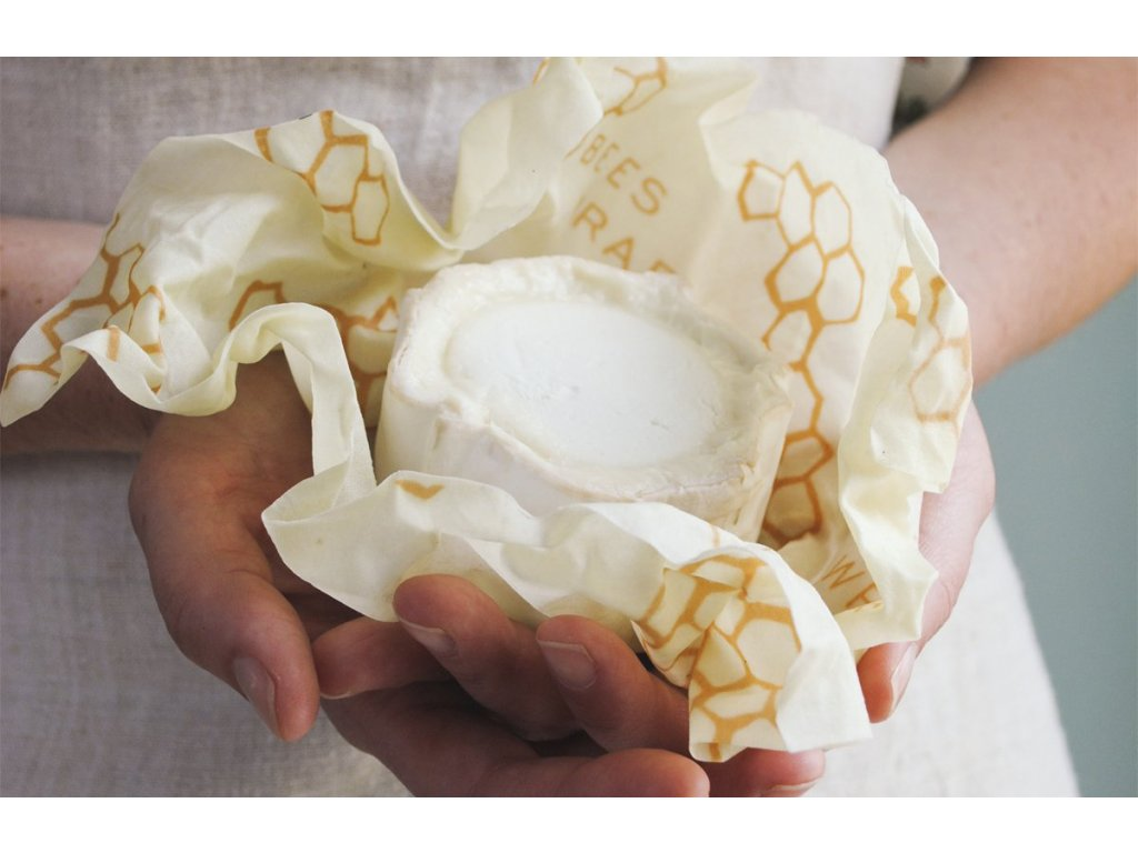 stredny bees wrap plast