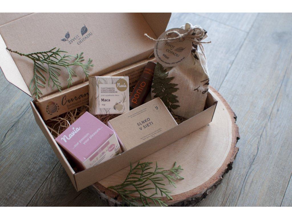 ZERO WASTE balíček pre dámy 0 www.zivotbezodpadu.sk