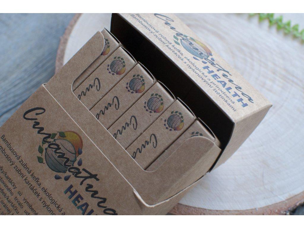 Balenie 12 ks bambusových zubných kefiek HEALTH soft Curanatura 12
