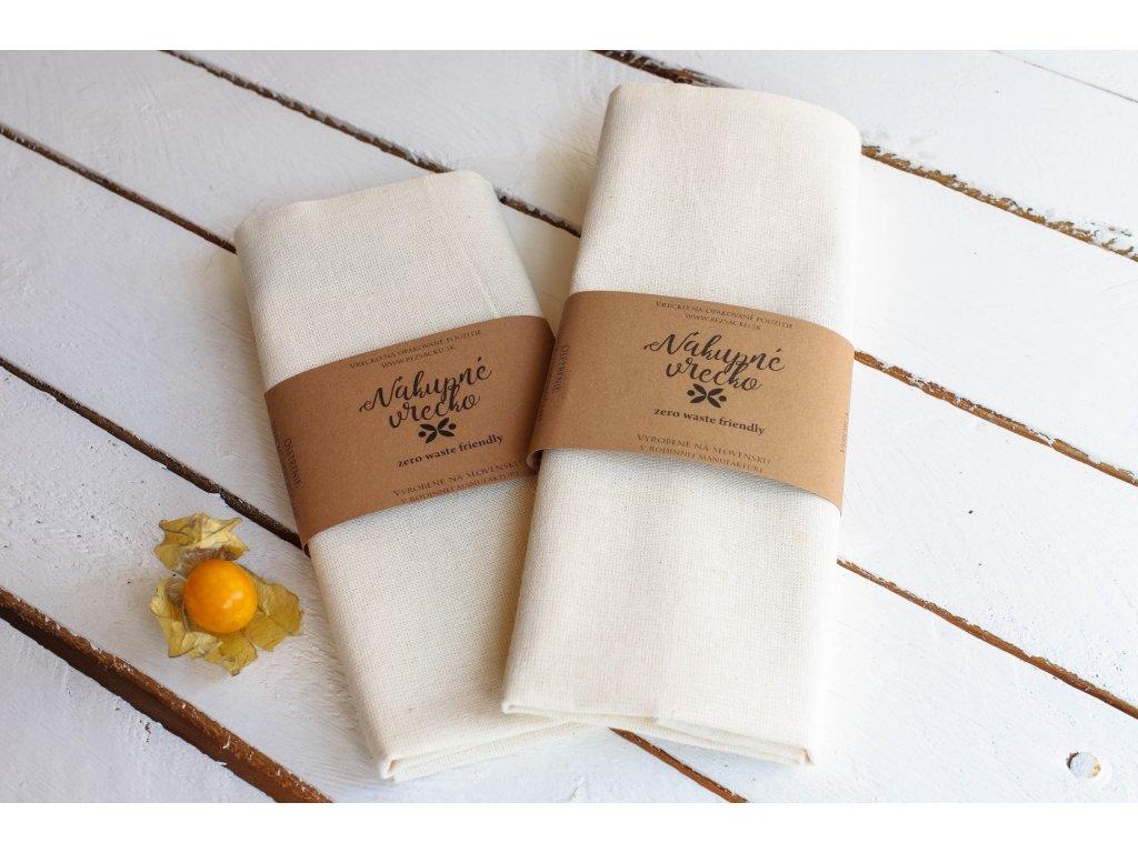 Nákupné vrecko bavlnené Vrecko na chlieb 10