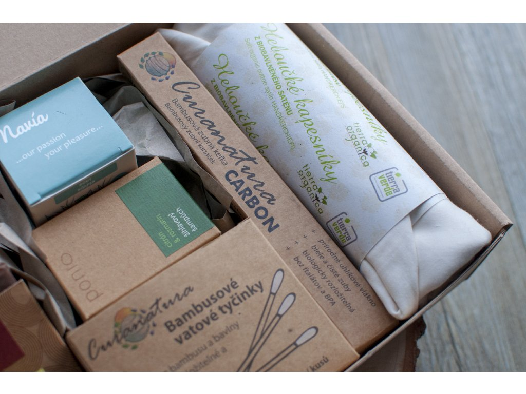 ZERO WASTE balíček prírodnej kozmetiky pre PÁNOV 3