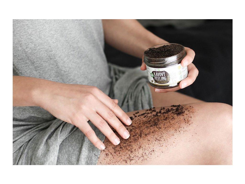 Kávový peeling BIO Purity Vision zivotbezodpadu