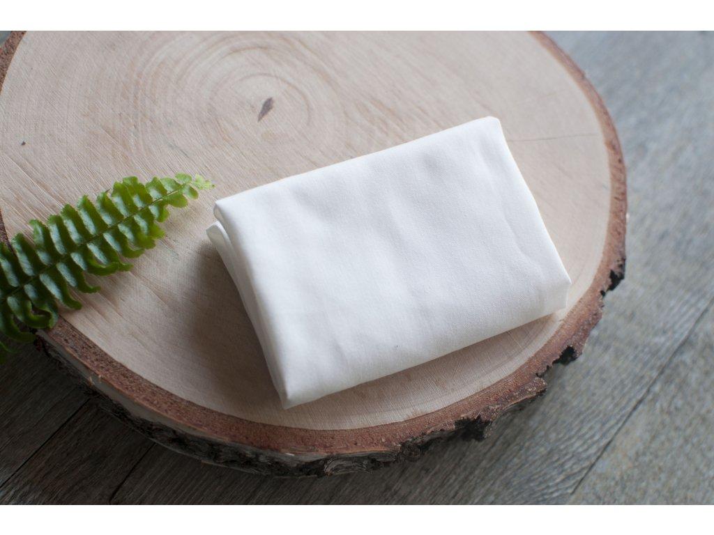 Dámska vreckovka z biobavlneného saténu natural bezobalová CASA Organica Tierra Verde 5