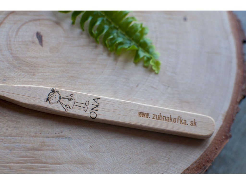 Bambusová zubná kefka %22ONA%22 Zubnakefka