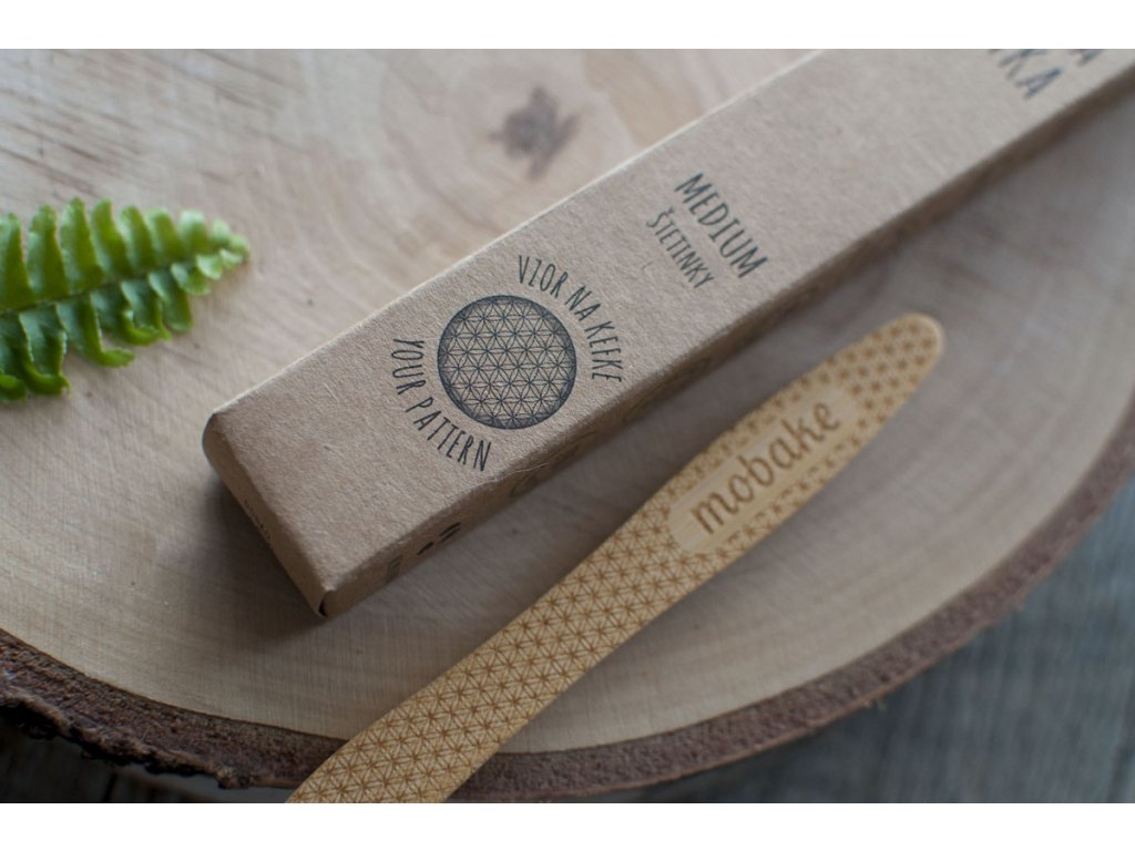 Bambusová zubná kefka Medium Mobake 2