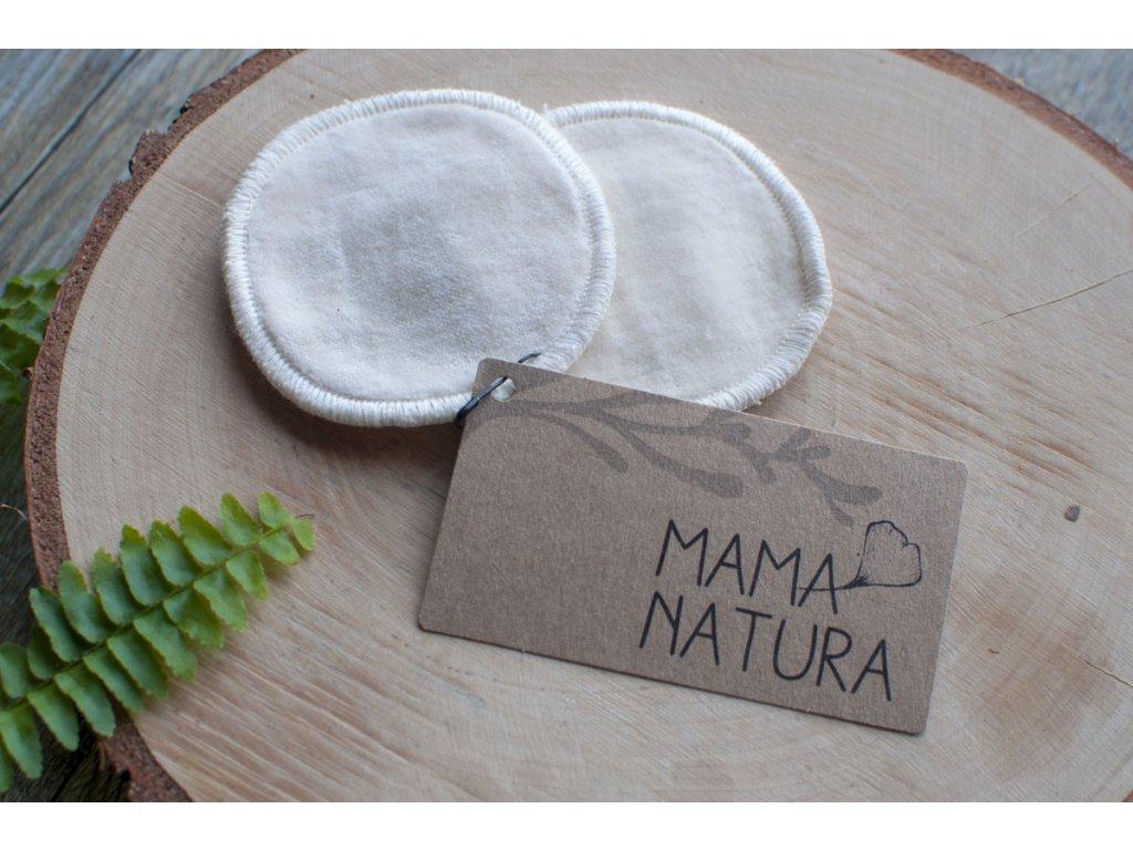 Odličovacie tampóny z biobavlneného zamatu (2 ks malé) MAMA NATURA Tierra Verde 1