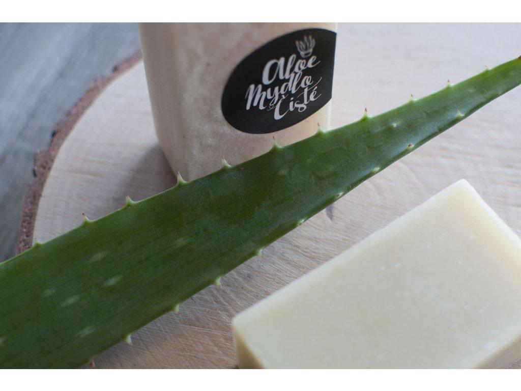 Aloe prírodné mydlo Čisté Aloemed 4