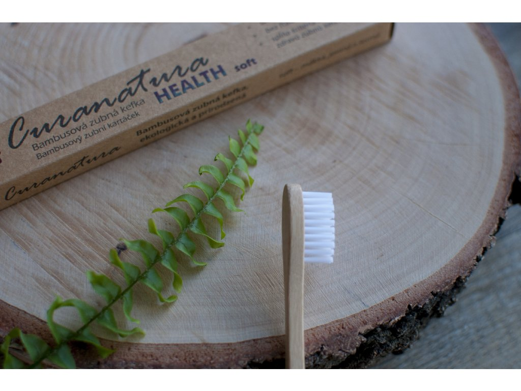 Bambusová zubná kefka HEALTH soft - Curanatura
