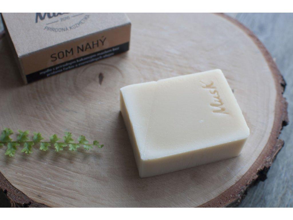Prírodné mydlo pre citlivú pokožku %22SOM NAHÝ%22 MusK 5