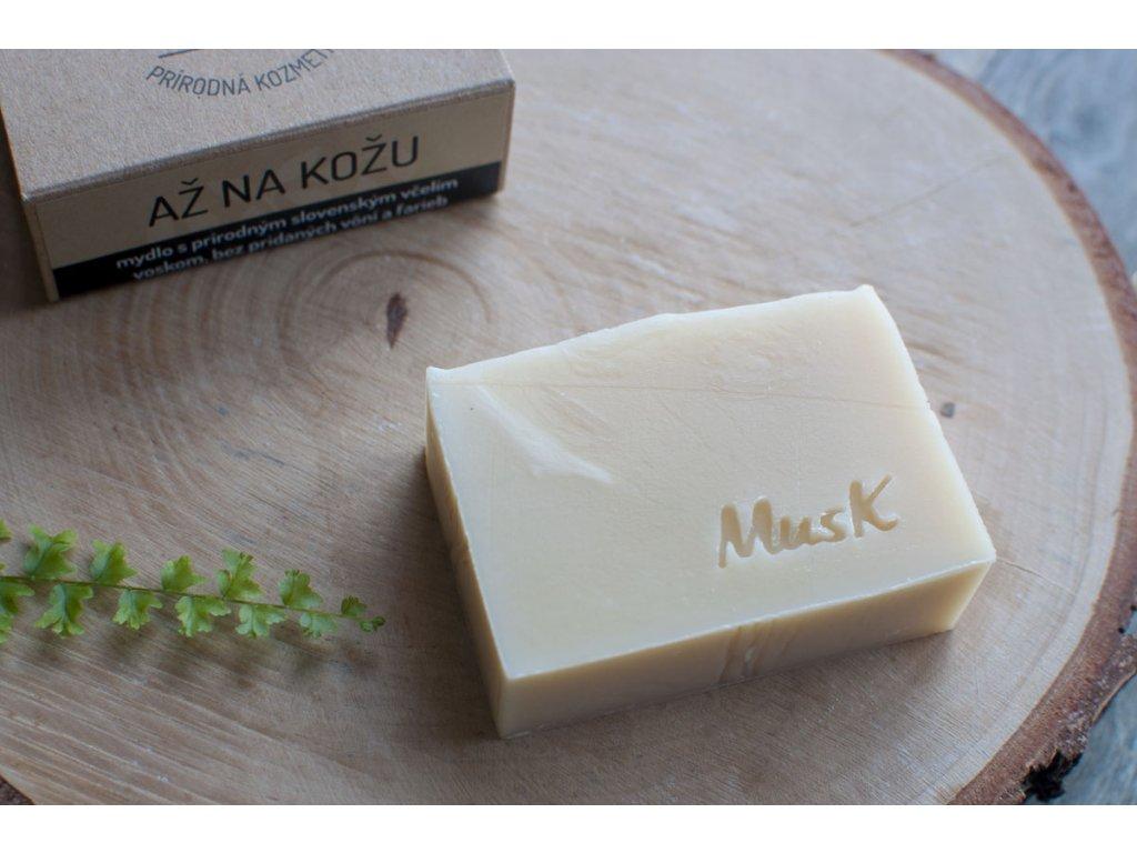 Prírodné mydlo so včelím voskom %22AŽ NA KOŽU%22 MusK 5