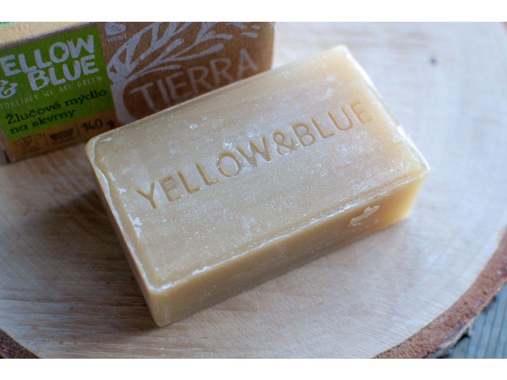 Žlčové mydlo na pranie, odstraňovač škvŕn Yellow & Blue Tierra Verde 2