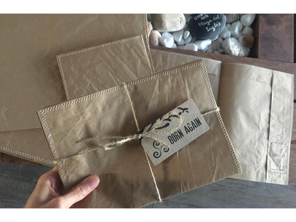 Papierové obaly na zošity Born Again Tierra Verde
