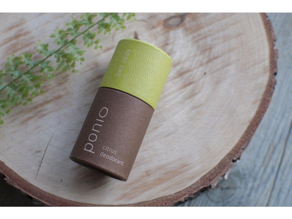 Pazúch Citrus sodafree prírodný deodorant bez sódy Ponio 3