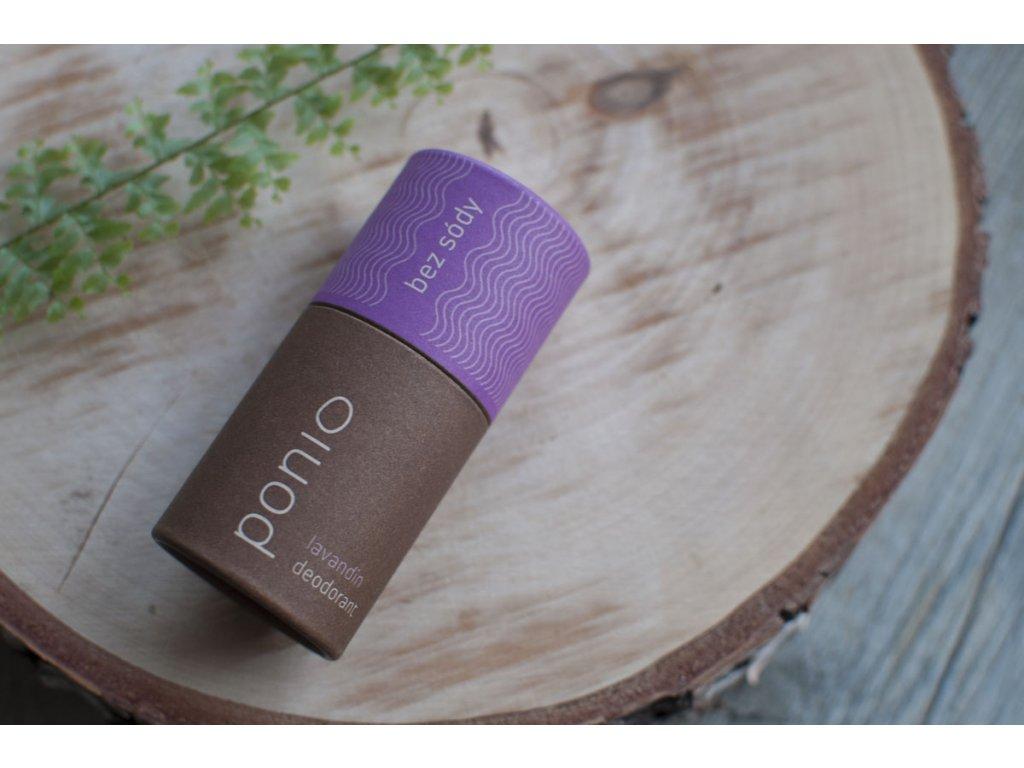 Pazúch Lavandin sodafree prírodný deodorant bez sódy Ponio 6