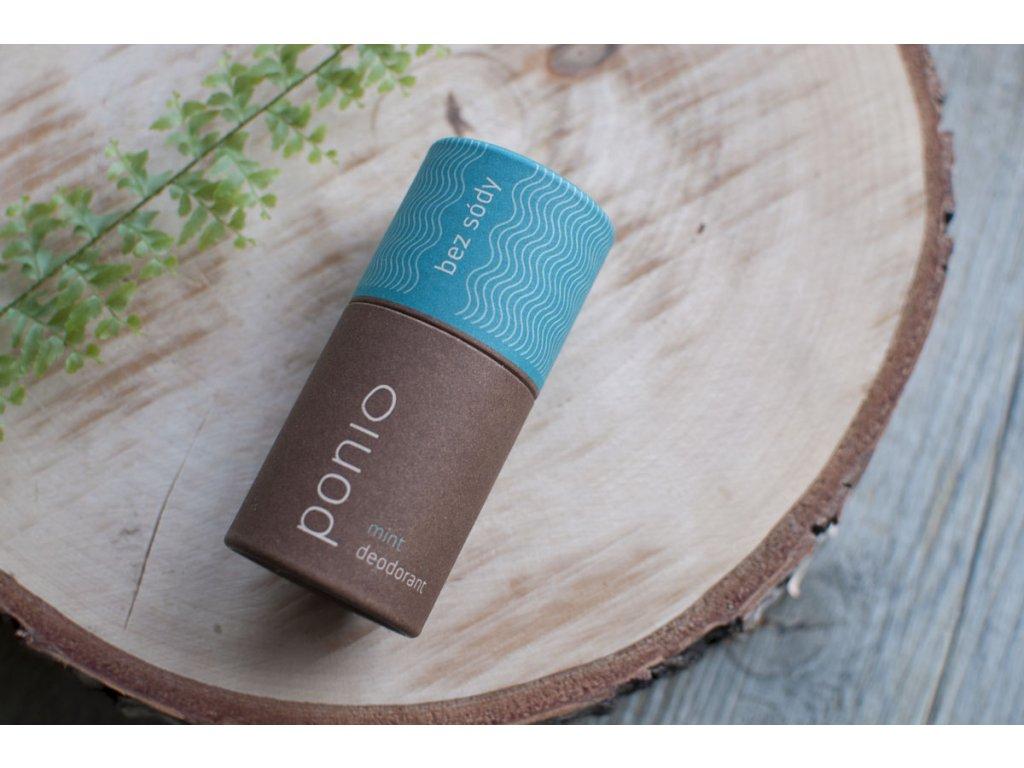 Pazúch Mint sodafree prírodný deodorant bez sódy Ponio 3