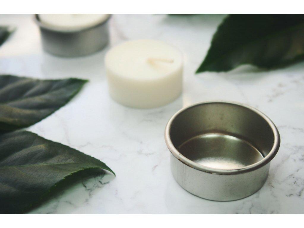 Kovový svietnik pre čajovú sviečku Jemnô 20