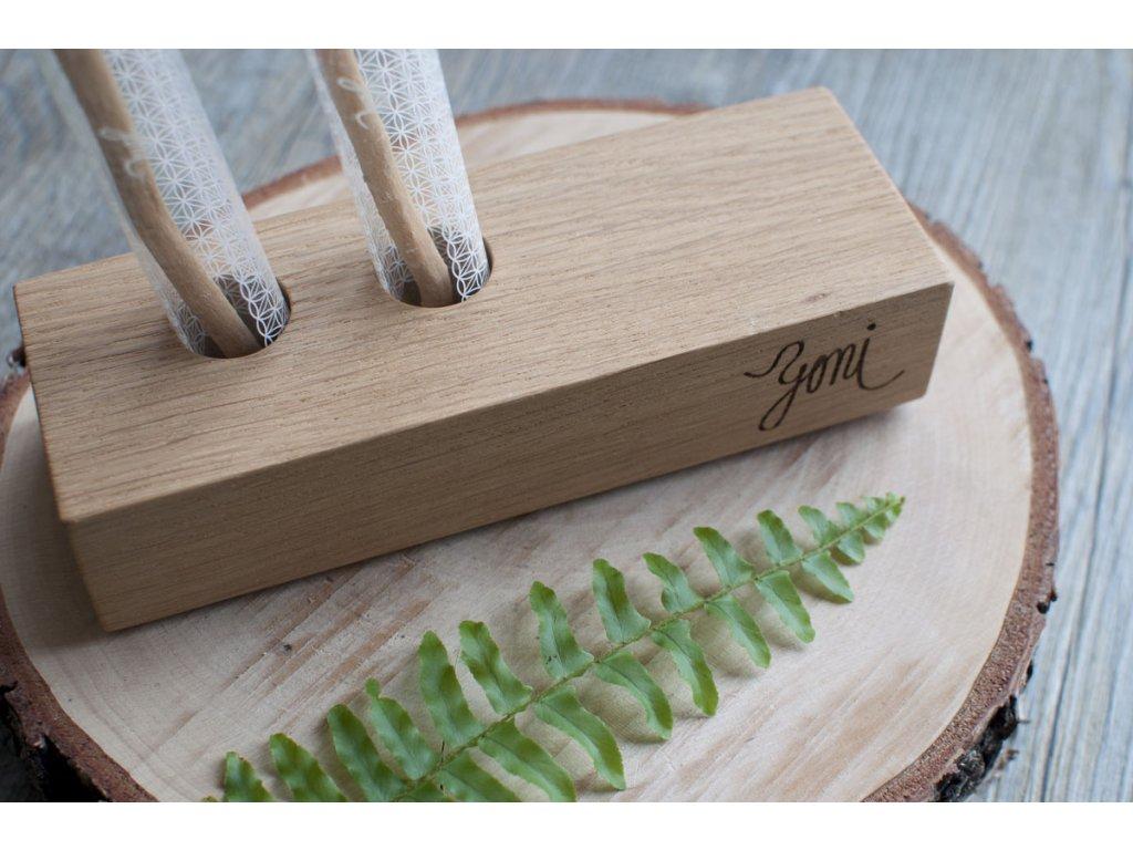 Yoni drevený stojan 4