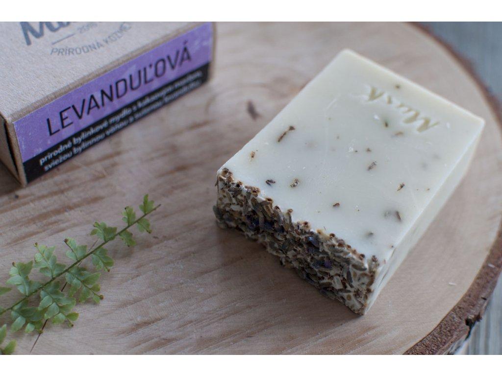 Prírodné mydlo so sušenými bylinkami %22LEVANDUĽOVÁ%22 MusK 4