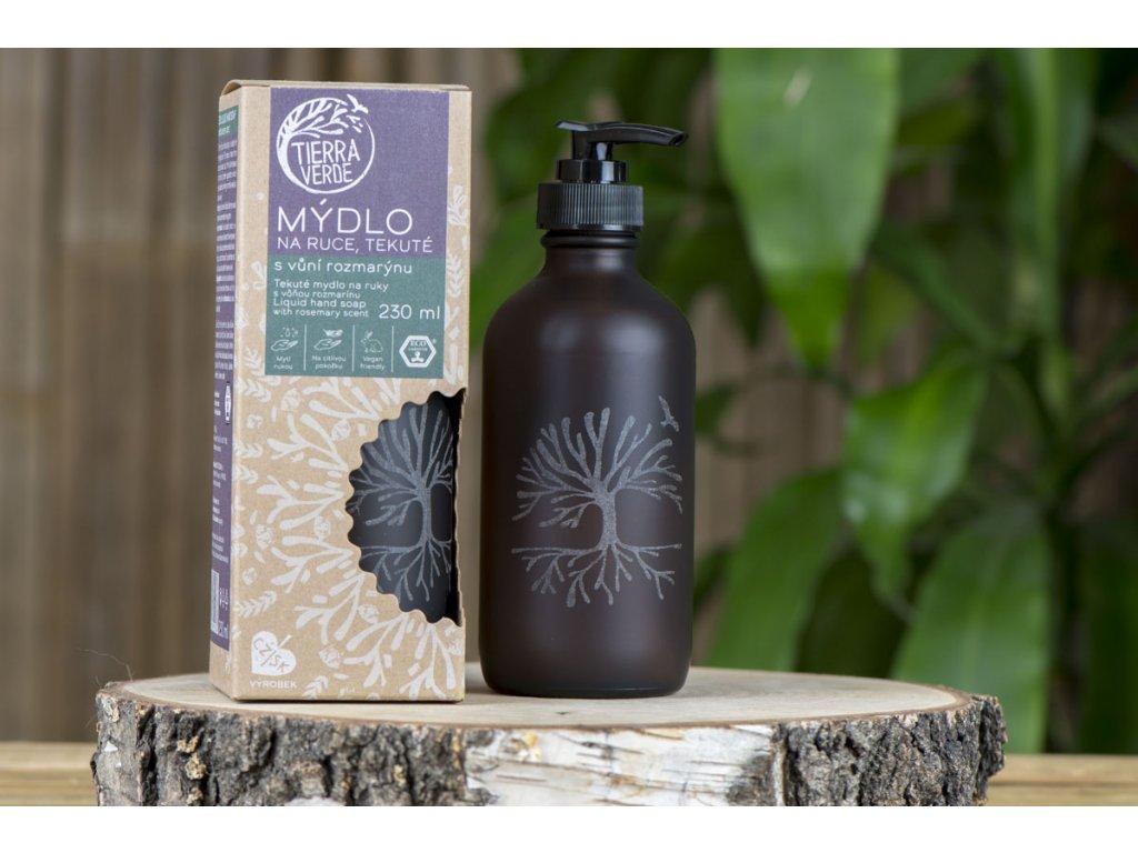 Tekuté mydlo na ruky s vôňou rozmarínu Tierra Verde 2