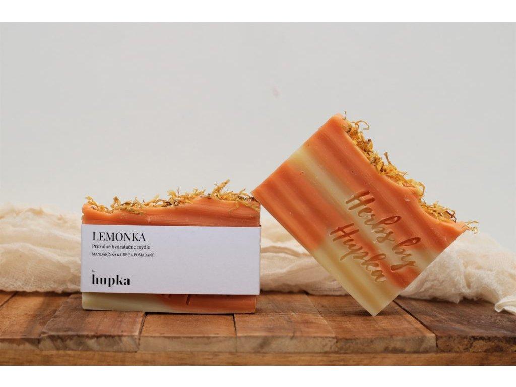 Prírodné hydratačné mydlo %22LEMONKA%22 Herbs by Hupka