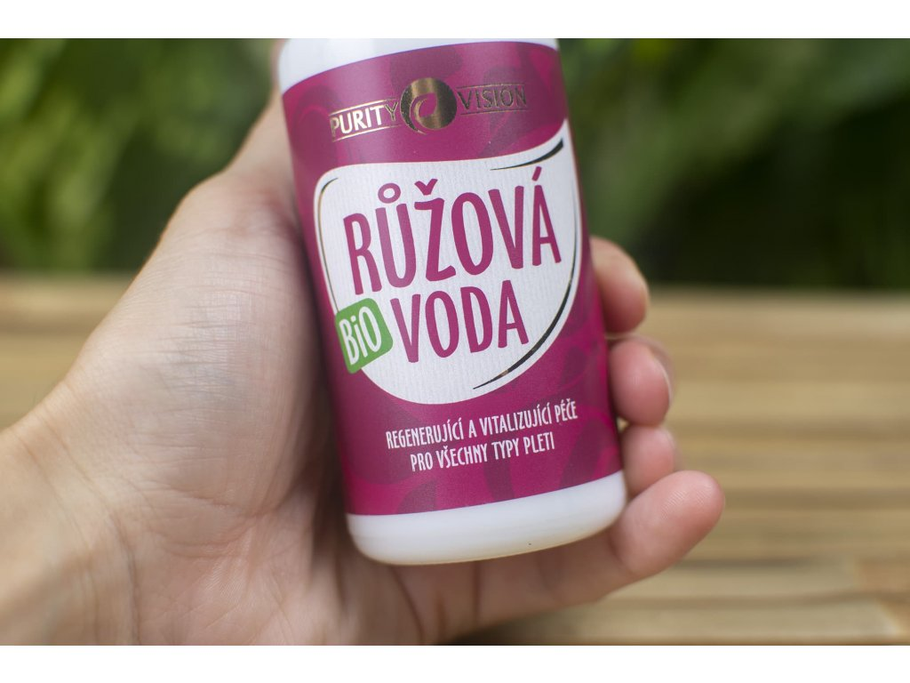 Ružová voda BIO Purity Vision 1á