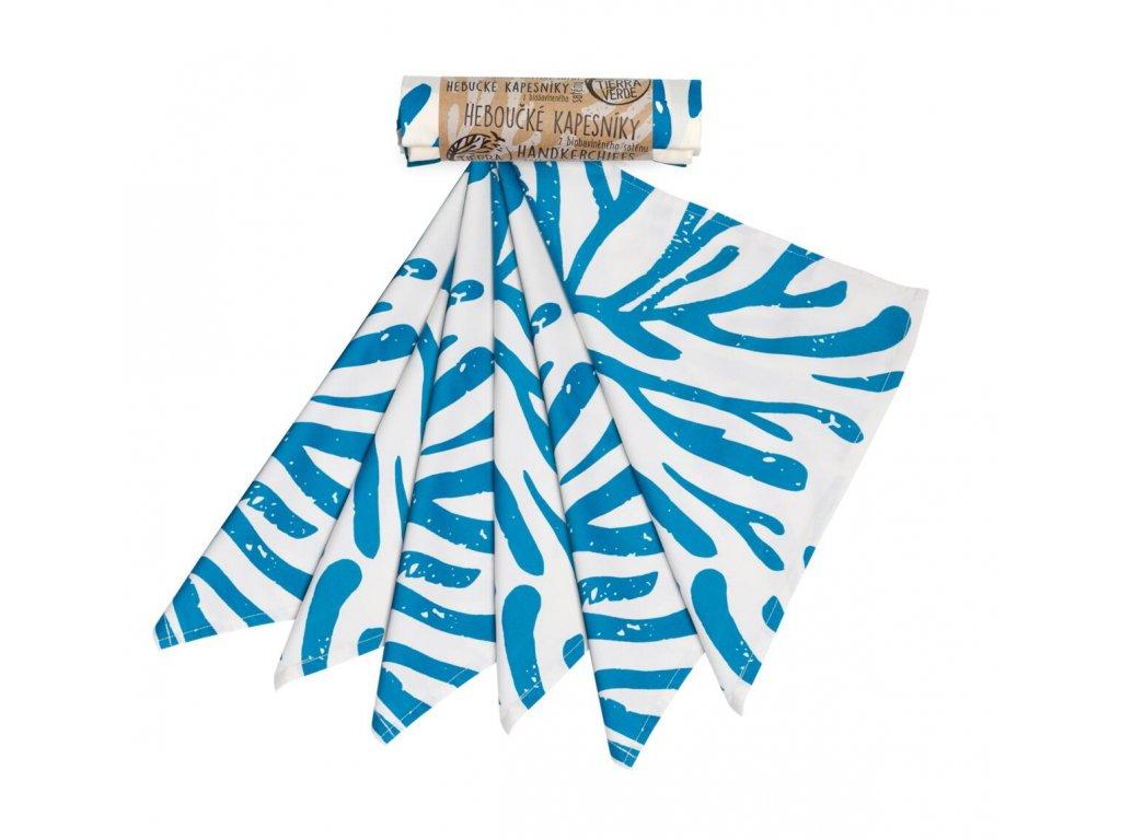 kapesniky panske modre vetve 36x36 cm 6 ks 14310 0001 bile samo w