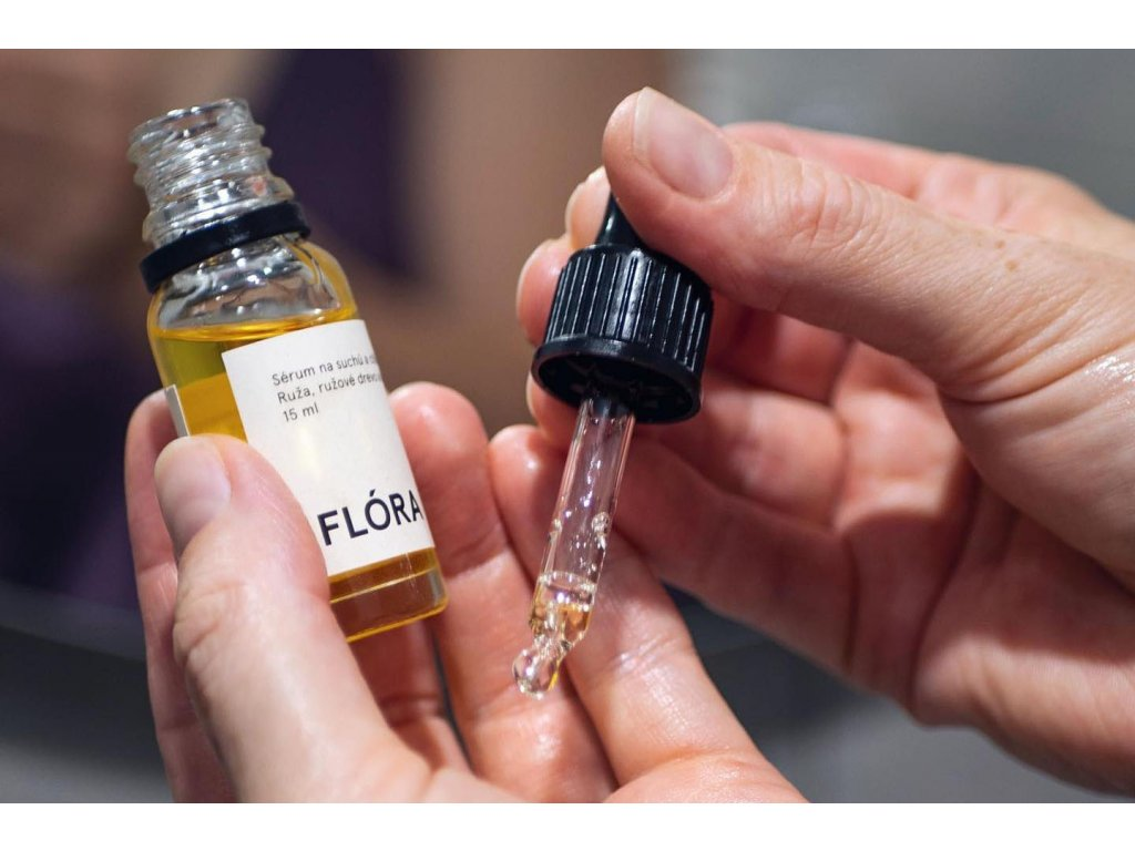 Olej na suchú a citlivú pleť %22FLÓRA%22 Mylo
