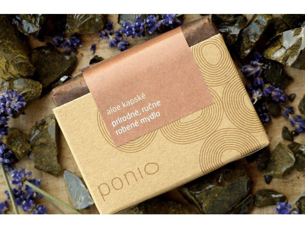 Aloe kapské prírodné mydlo Ponio