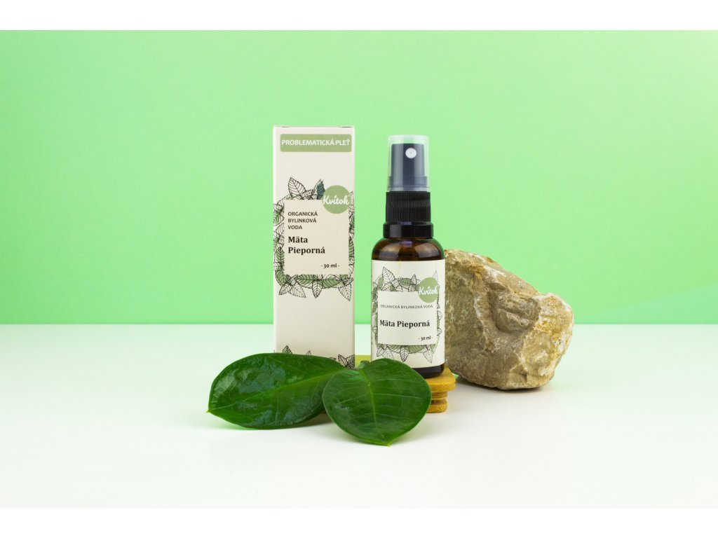 Organická bylinková voda Mäta Kučeravá Kvitok 1