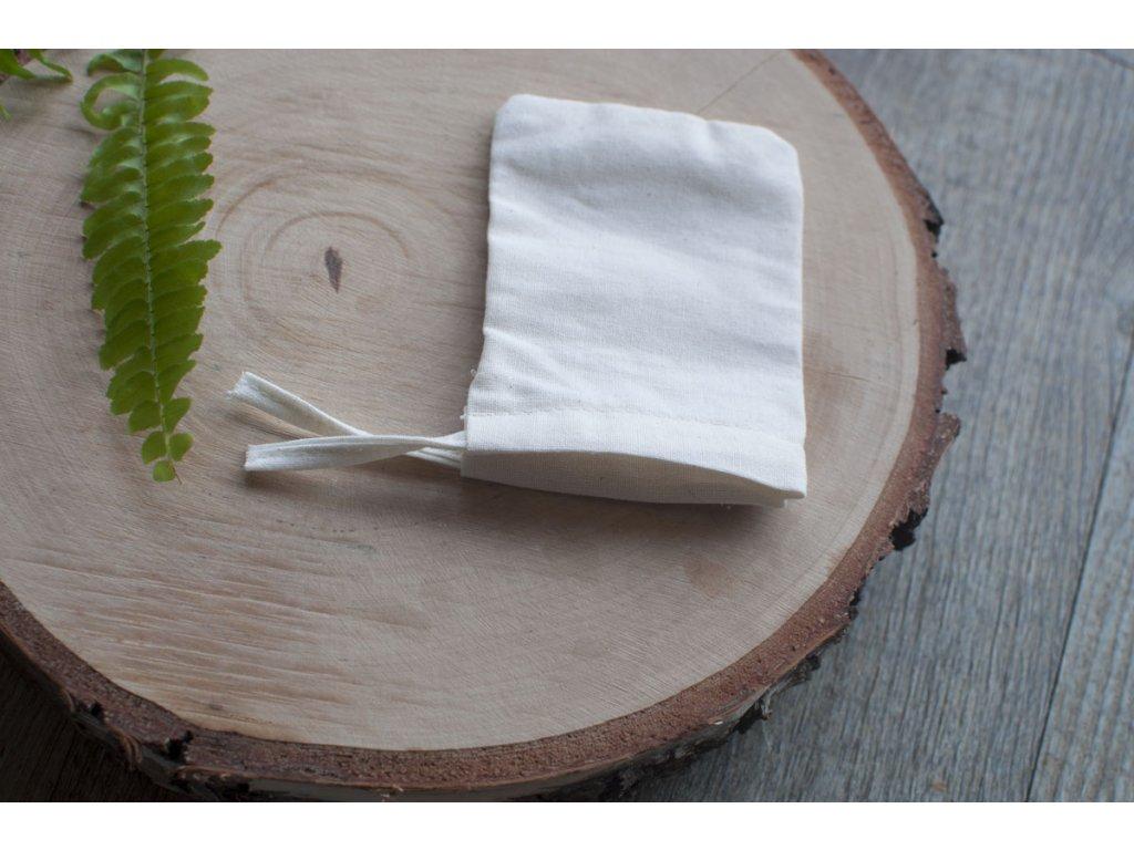 Plátené vrecúško na mydlové orechy z biobavlny Tierra Verde 2