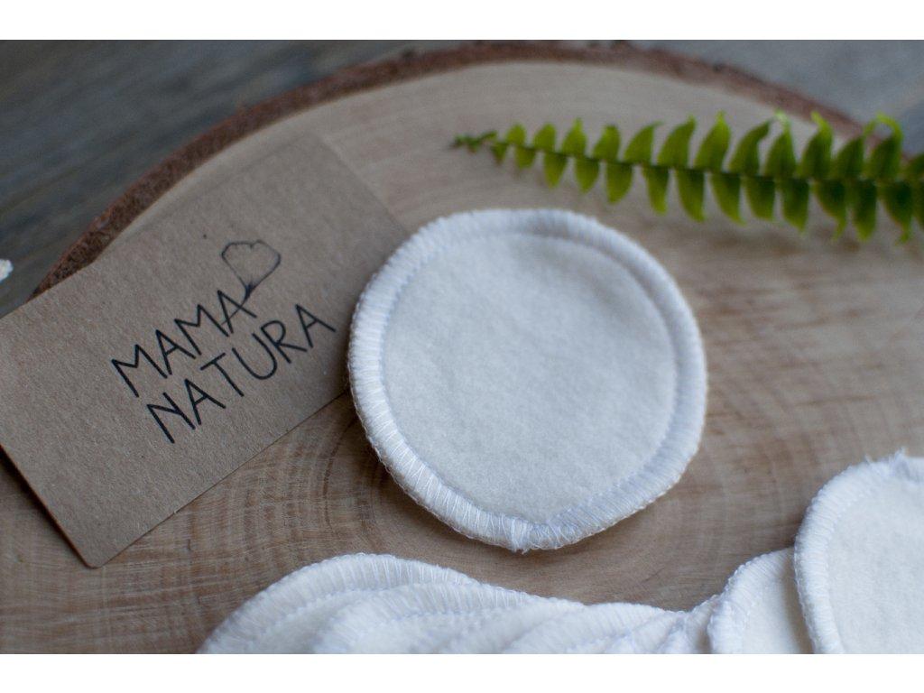 Odličovacie tampóny z bambusu a biobavlny (2 ks) - MAMA NATURA / Tierra Verde