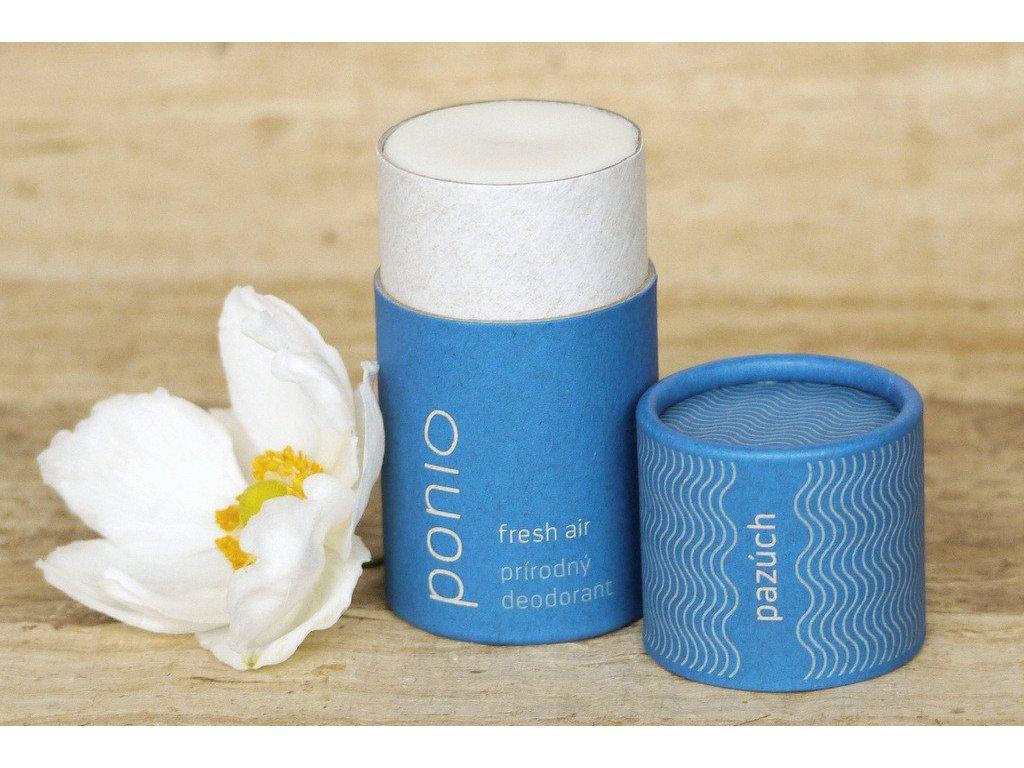 Pazúch Fresh air prírodný dezodorant Ponio www.zivotbezodpadu.sk